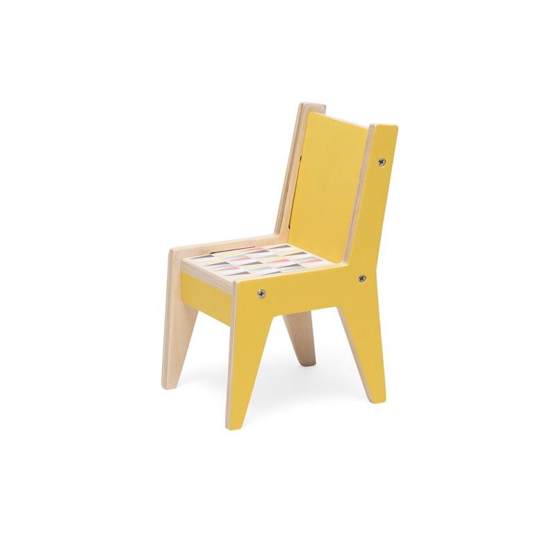 Dollhouse furniture table & chair