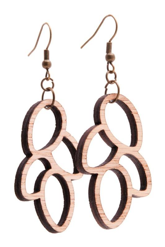 Just wood earrings