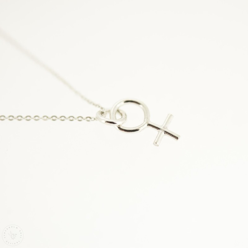 Venus charm necklace