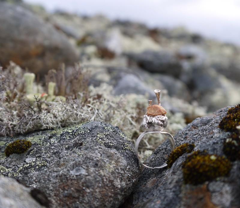 Bägarlav ring
