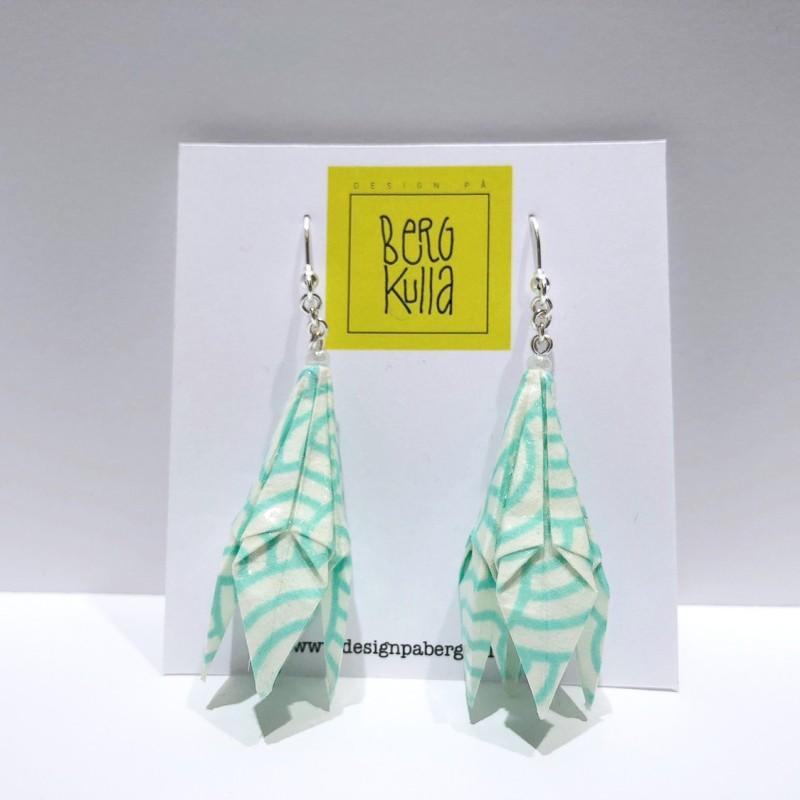 Origami earring