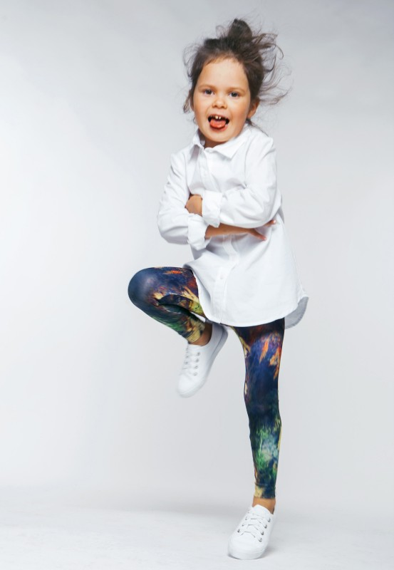 Sandy scars kids leggings