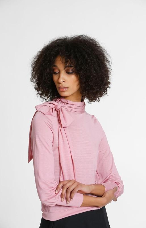 Knot shirt cameo pink