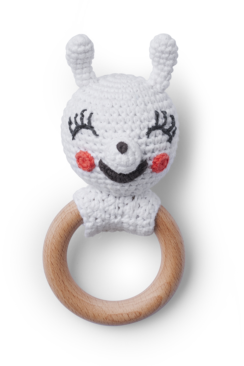 Crochet rattle Nina