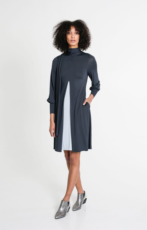 Beacon dress alpine green