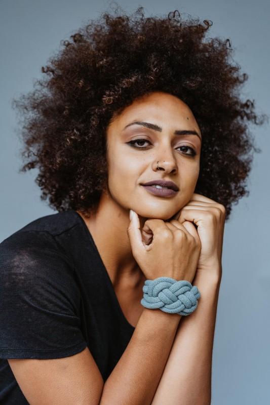 Josephine rope bracelet laurel