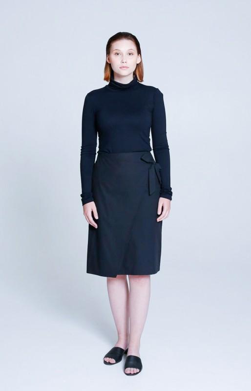 Sand skirt coal black
