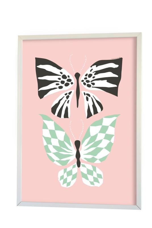 Littlephant Butterfly Love Pink