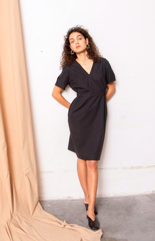 Crystal Dress coal black