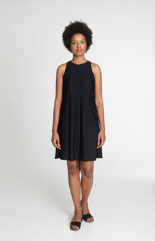 Holiday dress, black