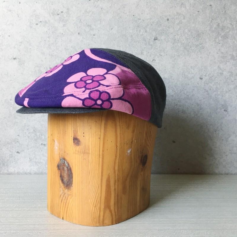 Flat Cap Pink flower