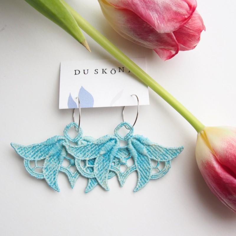 Du sköna lace earrings