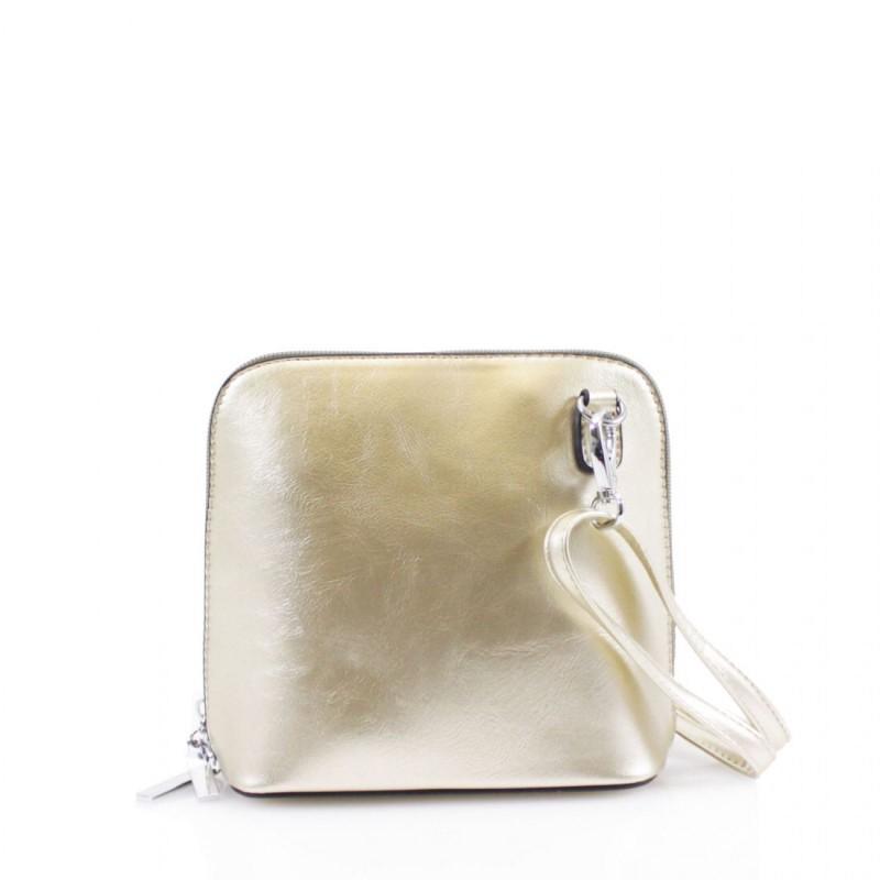 Oyster Cross Body Handbag – Gold