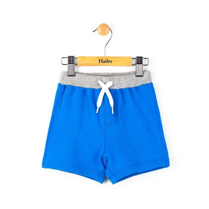 Hatley Blue Mini Pull-on Shorts