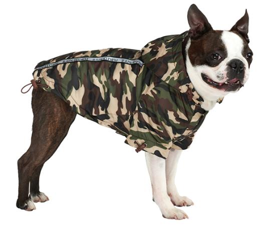 Camo Print raincoat
