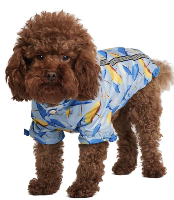 Umbrella Print Raincoat