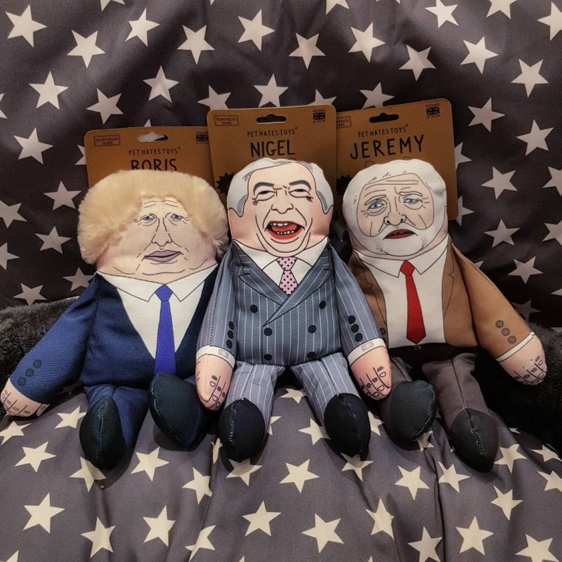 Pet Hate Toys Politicians