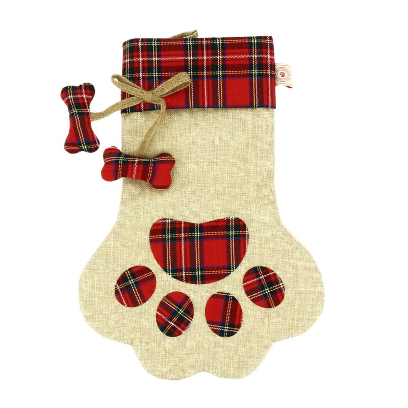 Paw shaped Stocking