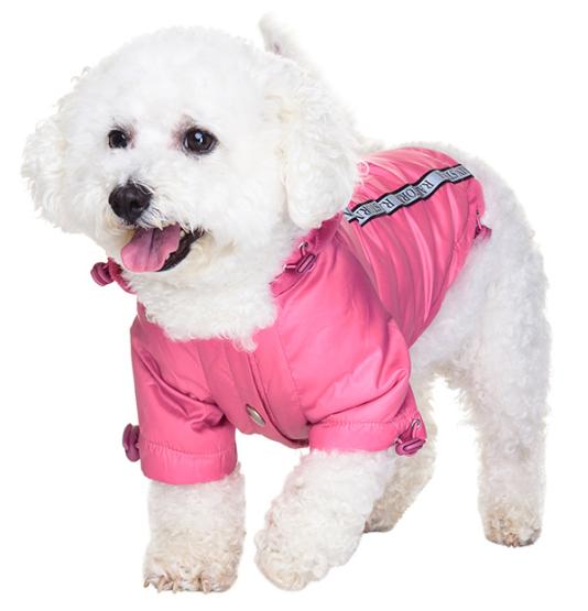 Pink raincoats