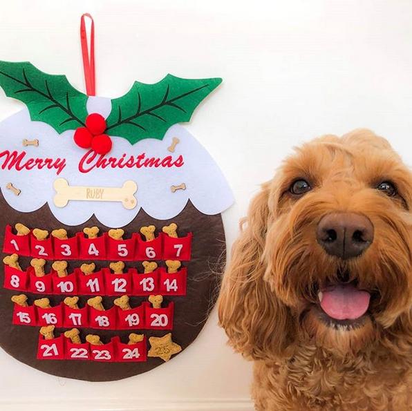 Handmade Pudding Advent Calendar
