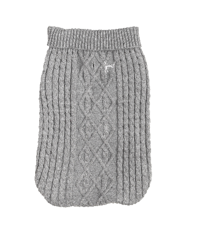 Grey & Red Cable knit jumpers