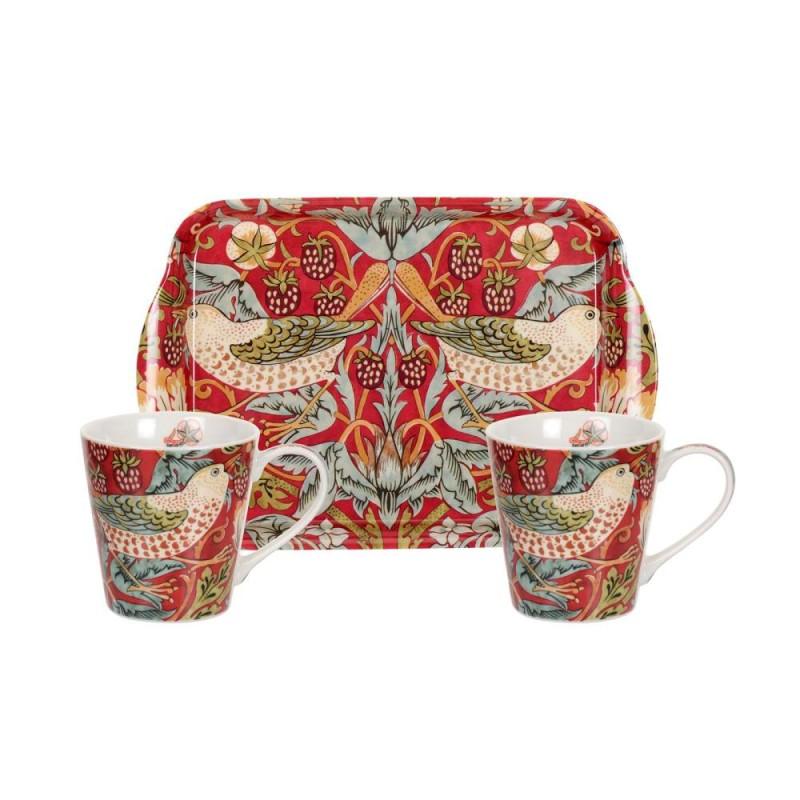 William Morris Strawberry Thief Red Mugg   Brickset 9c7dcf7d74e10