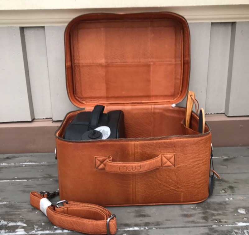 Mars : koffert skinn