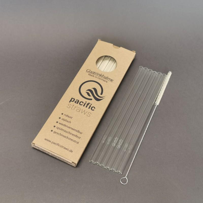 Glas-Trinkhalme von Pacific Straws