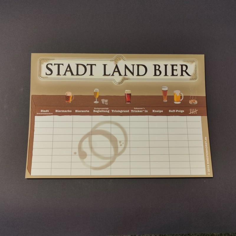 Stadt Land Bier