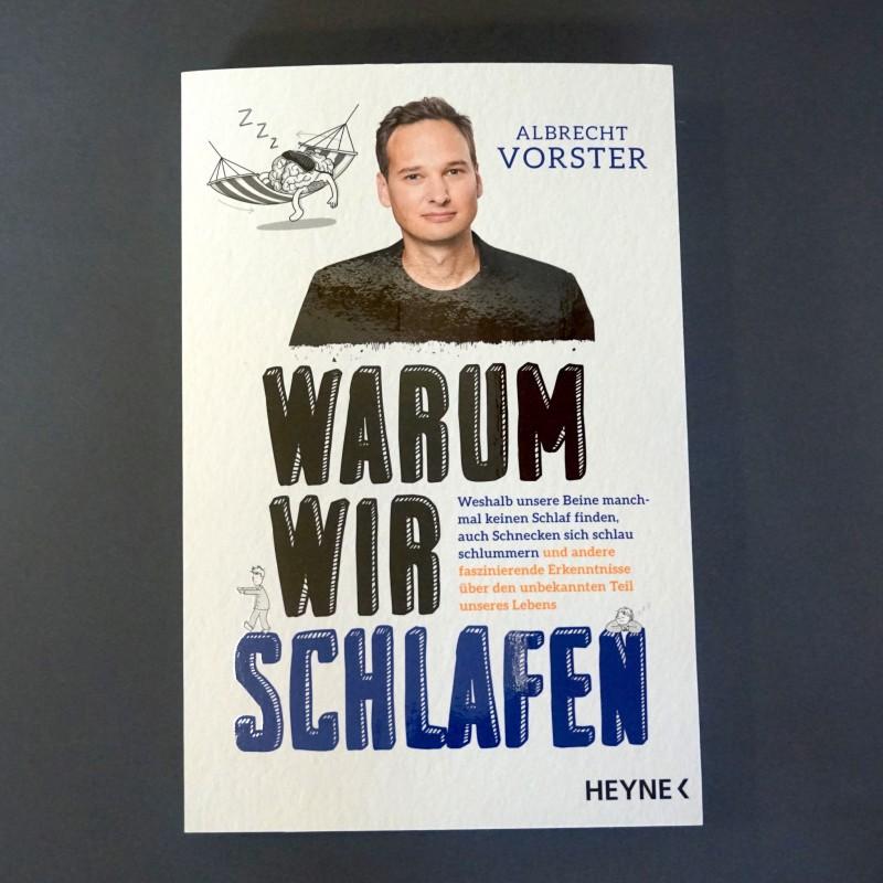 Warum wir schlafen - Buch von Albrecht Vorster