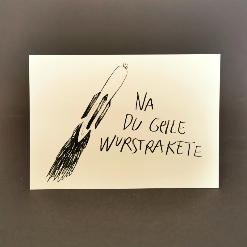 Postkarte von Wolfgang Philippi