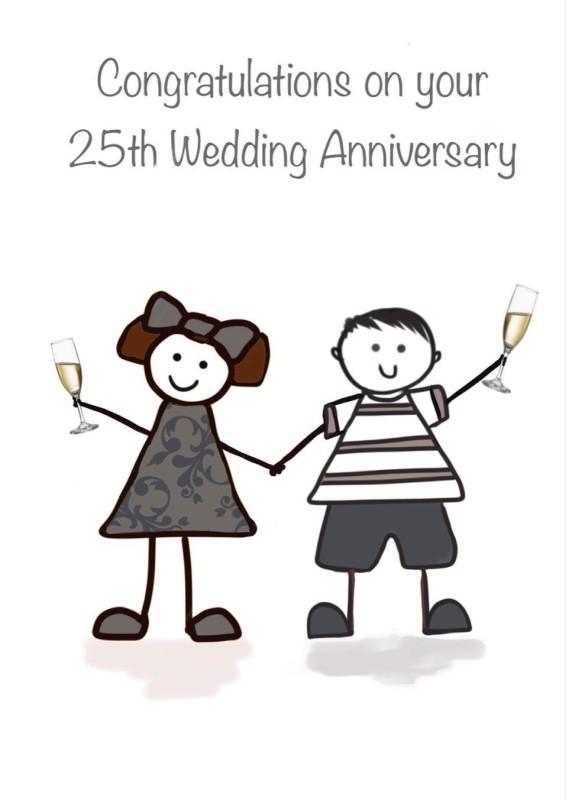 25th Wedding Anniversary (FDE30)