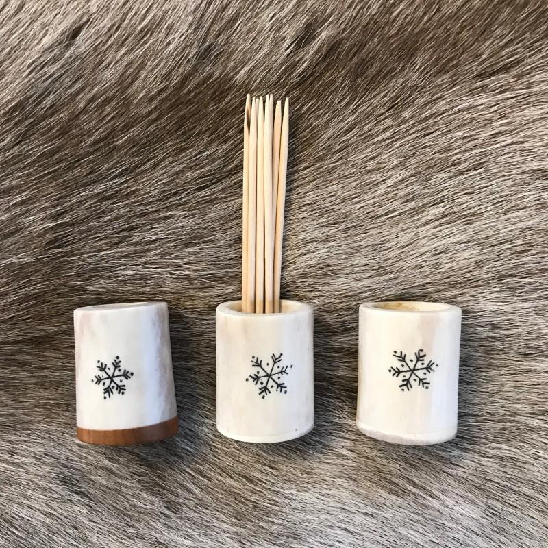 Hammastikkuteline/ toothpick holder