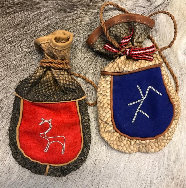 Laukku kalannahasta / Bag from fish leather