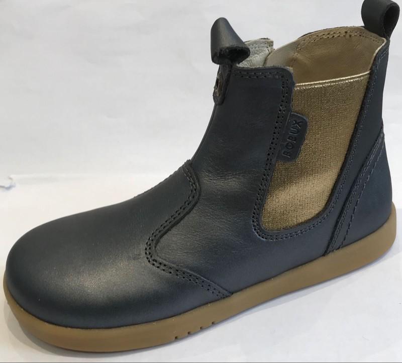 Bobux KP Jodhpur Charcoal Shimmer Boot