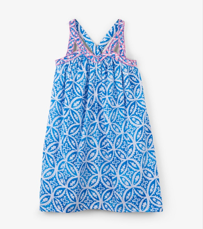 Hatley Blue Handkerchief Dress