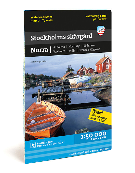 KARTA CALAZO NORRA SKÄRGÅRDEN