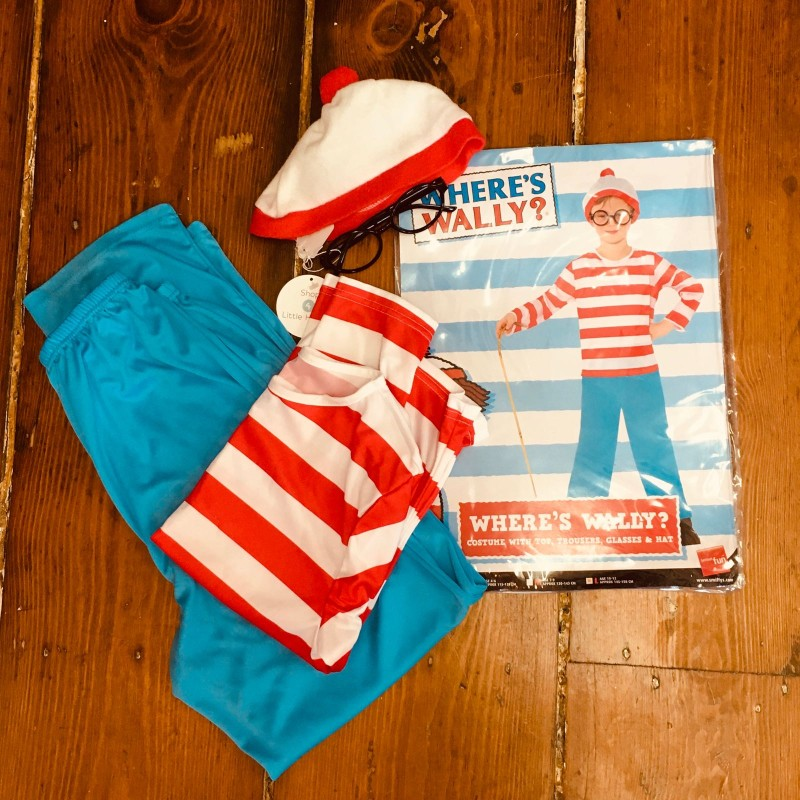 WHERE'S WALLY DRESSING UP 10YRS