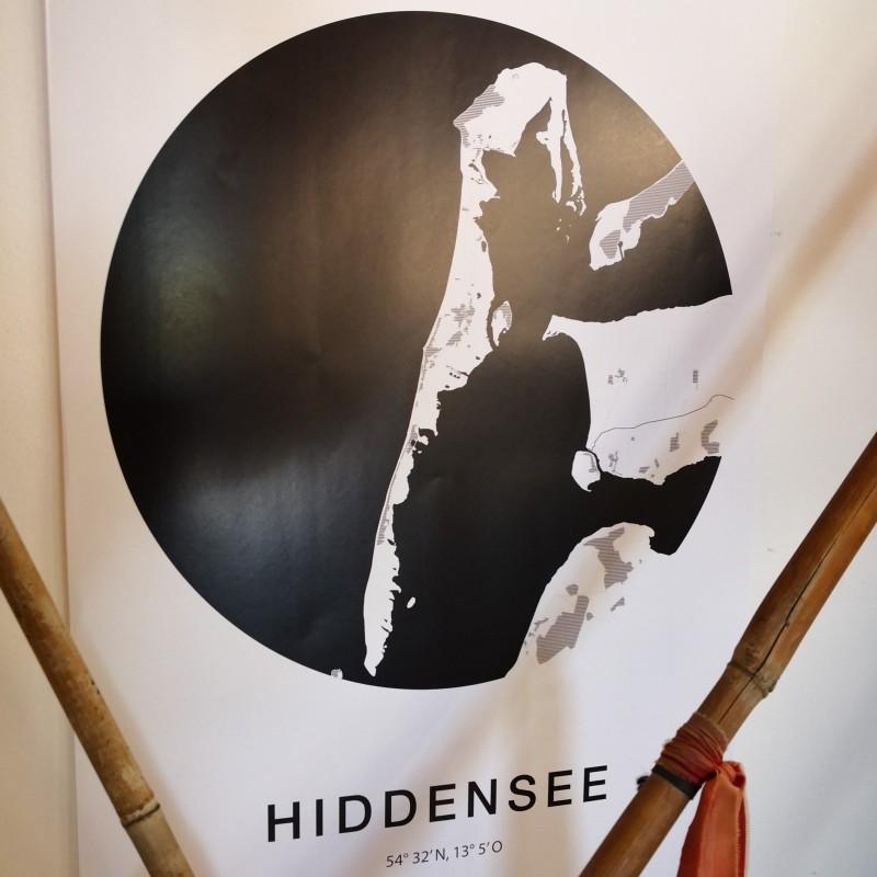 Fischuppen - Hiddensee Poster