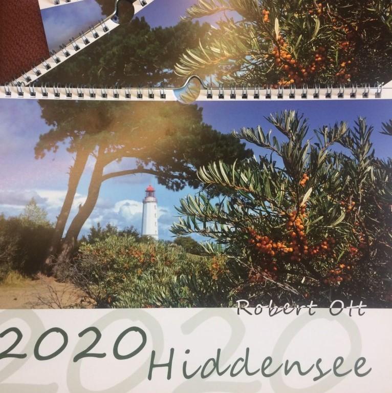 Fischuppen - Robert Ott: Kalender Hiddensee