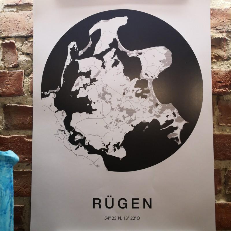Fischuppen - Rügen Poster