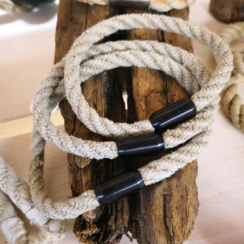 Fischereidesign - Armband dünn mit Edelstahlverschluss