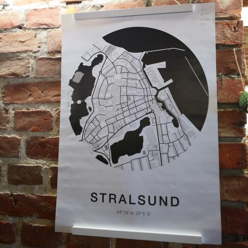 Fischuppen - Stralsund Poster