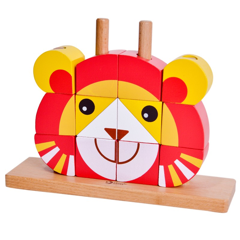 classic world - lion blocks