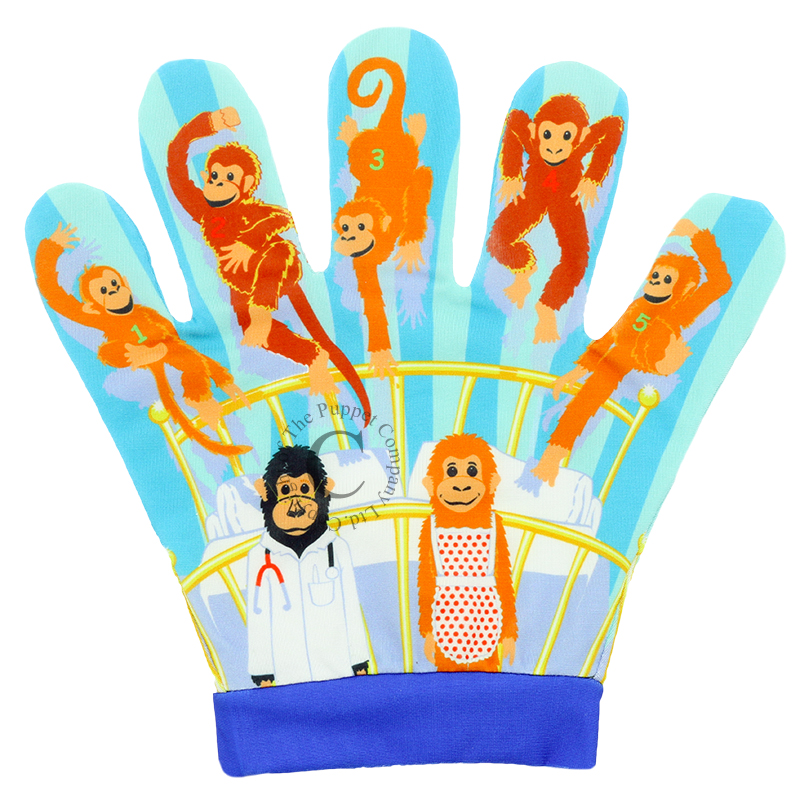 Puppet Company Song Mits - Five Little Monkeys