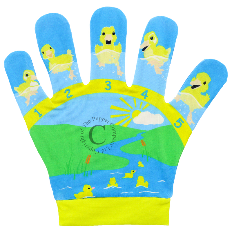 Puppet Company Song Mits - Five Little Ducks