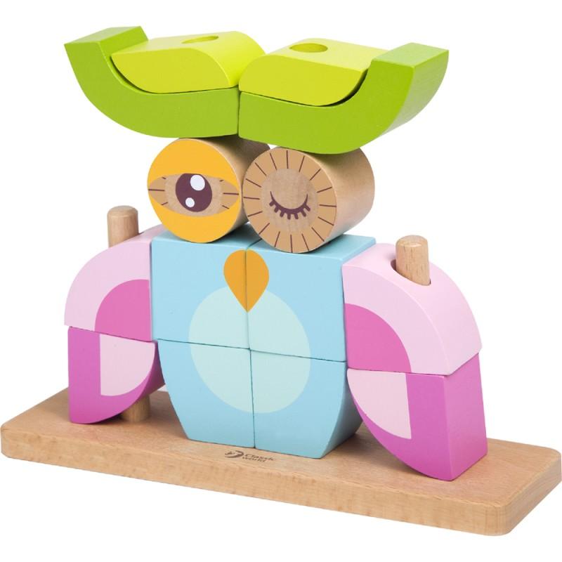 classic worls - owl block set