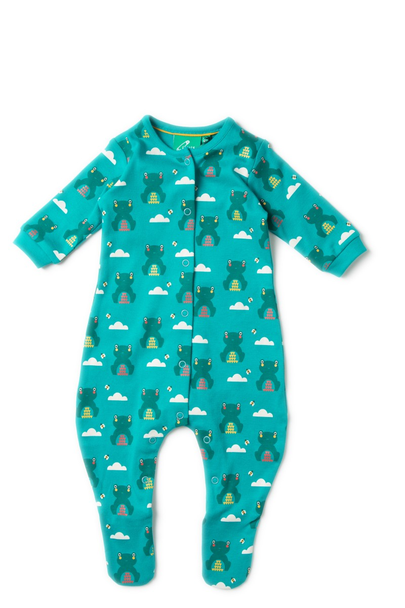 LGR river frogs babygrow 12-18m