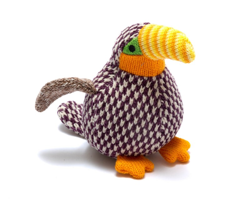 best years - Knitted benjie toucan