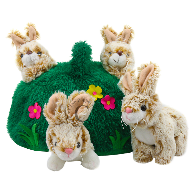 Puppet Company Hide-Aways - Rabbit Hill